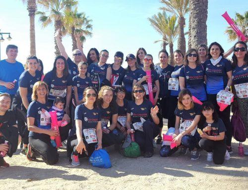Equipo Juana Crespo y Air Liquide Healthcare participan juntas en la Carrera de la Mujer