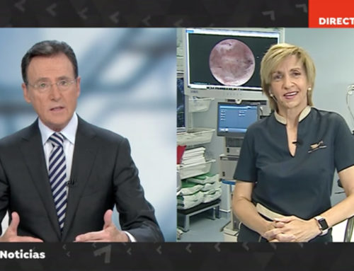 Entrevista en directo en Antena3 Noticias por Matías Prats