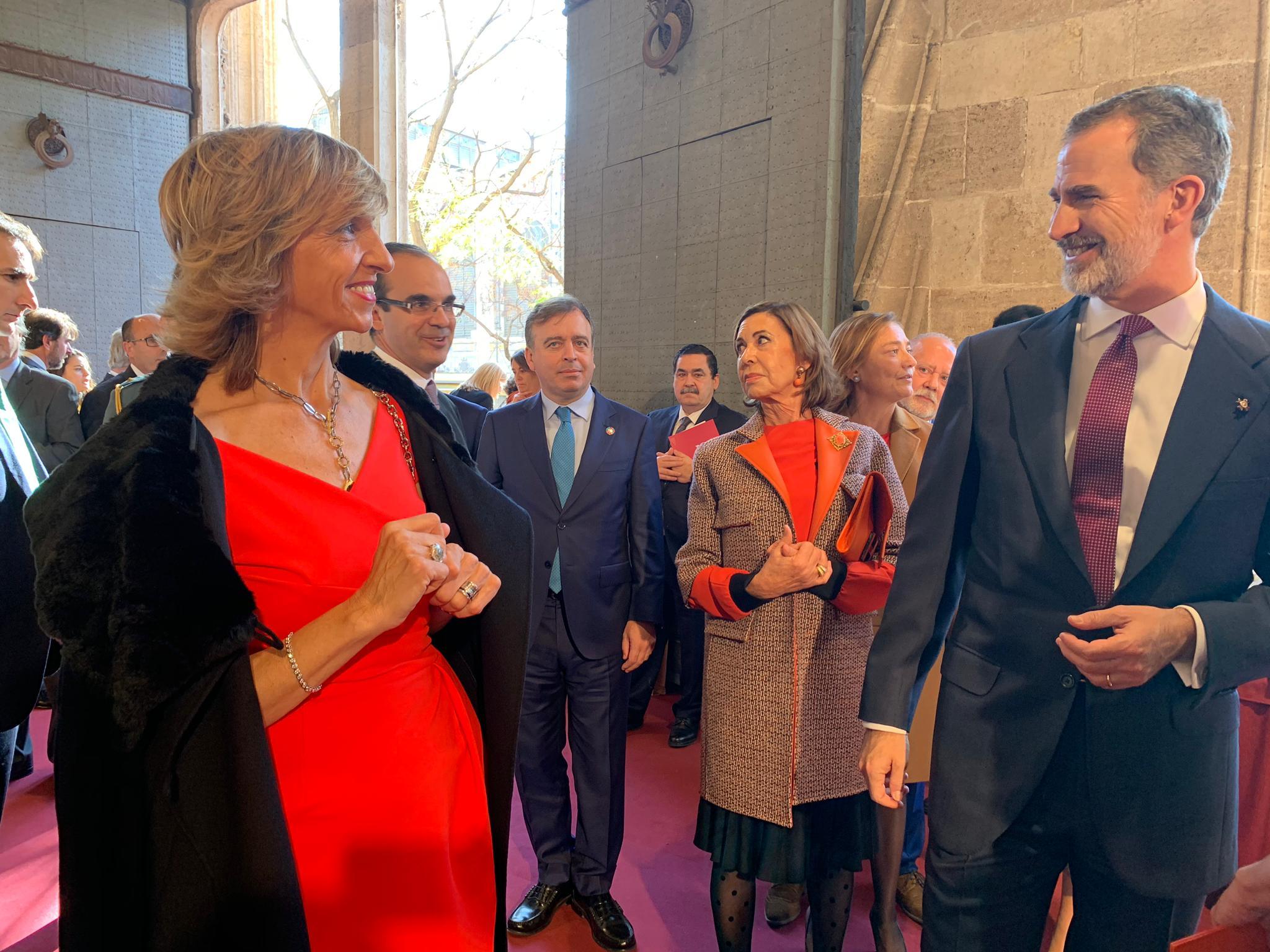 Felipe VI y Juana Crespo
