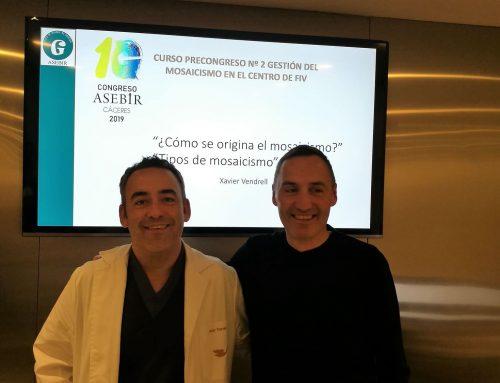 El Dr. Xavier Vendrell inaugura las Jornadas de Especialización de Equipo Juana Crespo