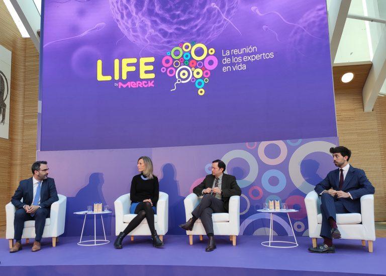 Imagen de los ponentes del evento Life by Merk